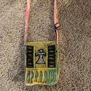 Handbags - Gypsy style boho cloth bag.